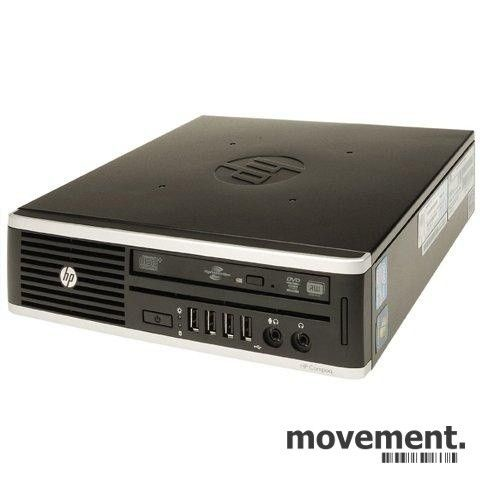 Stasjonær PC: HP Compaq 8200 Elite Ultra slim Desktop, i5