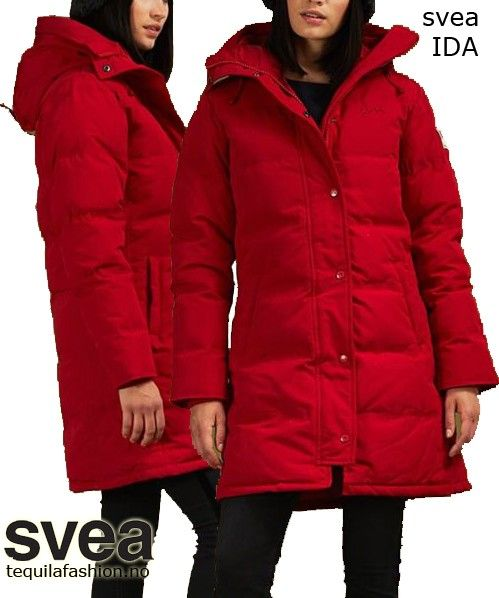 2df5e178 50% Svea Ida Jacket - Medium lang jakke *gratis frakt | FINN.no