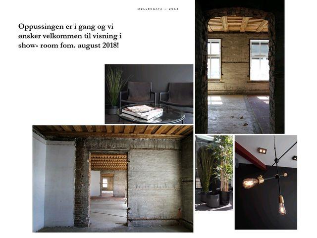 Velkommen til vårt show-room i Møllergata 23-25! Ta kontakt for visning!