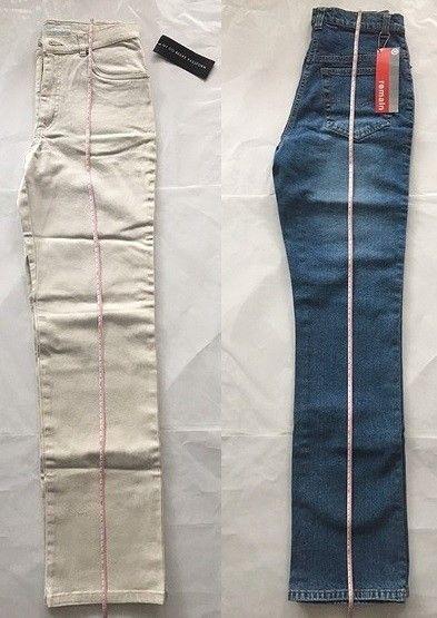 20a70a5d To par ny bukser (jeans) med merkelapp, str 36, kr 100 for begge | FINN.no