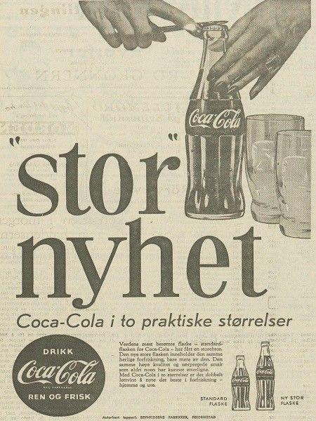 171121b9 Norske ukeblader, magasiner, aviser og andre trykksaker med Coca-Cola  annonser ØNSKES KJØPT. (2/3)