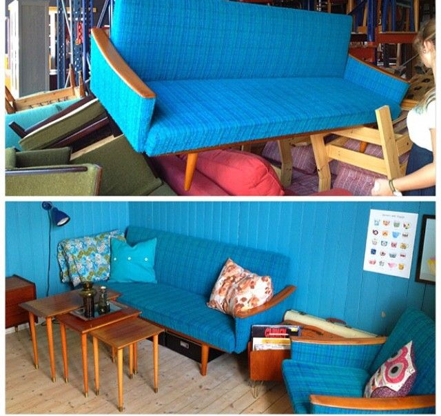 Enormt Retro sofa | FINN.no GW-12