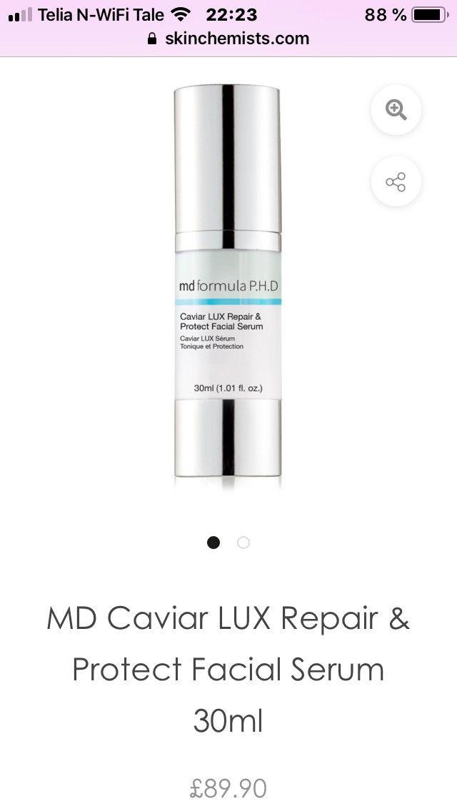 Md formula caviar lux repair & protect facial serum | FINN no
