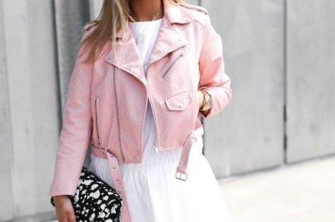 f613d27b Rosa skinnjakke Zara | FINN.no