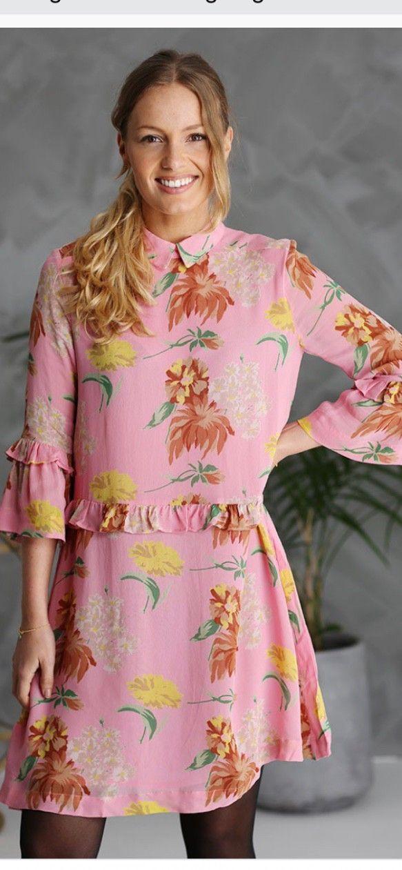 5318177a6 Kjole ganni geogette marceau rosa | FINN.no