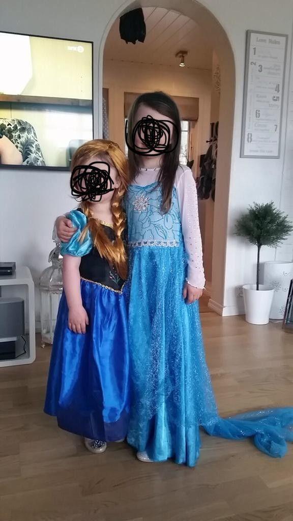cf55923c Elsa og Anna kjoler selges billig | FINN.no