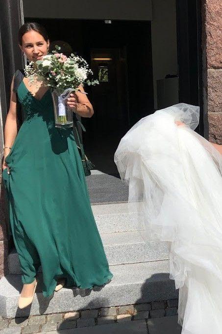 482ea64b Grønn kjole til bryllup | FINN.no