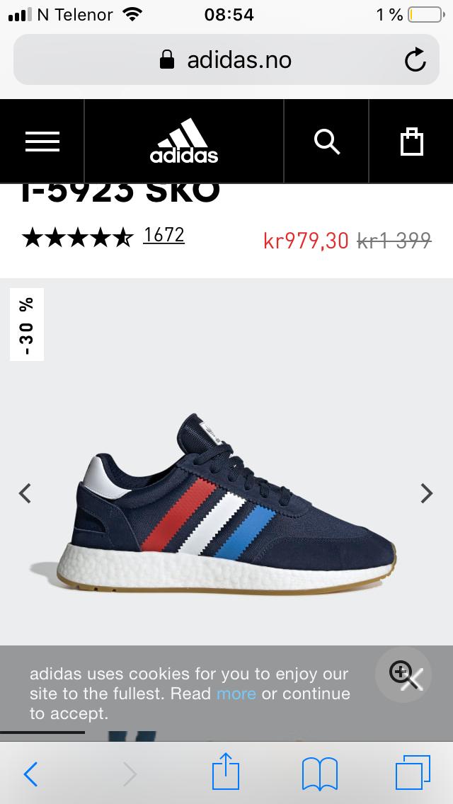 Adidas Originals sko str 42 | FINN.no