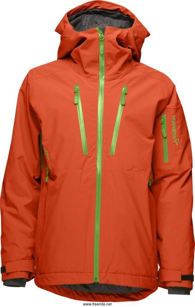Norrøna Lofoten goretex primaloft jakke (W) Grønn