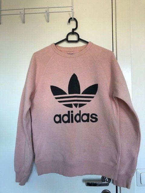adidas genser rosa