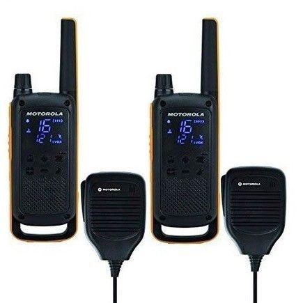 Motorola T82 Extreme RSMPMR Talkabout Walkie Talkie | FINN.no