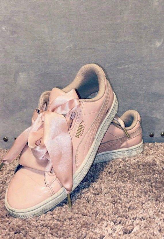 Rosa Puma sko m sløyfe str 36 | FINN.no