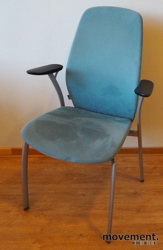 1 stk Kinnarps Plus 375 stol konferansestol BRUKTE