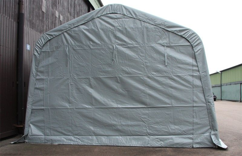 Lagertelt garasjetelt båttelt 3,6x4,8m 620gm² PVC duk