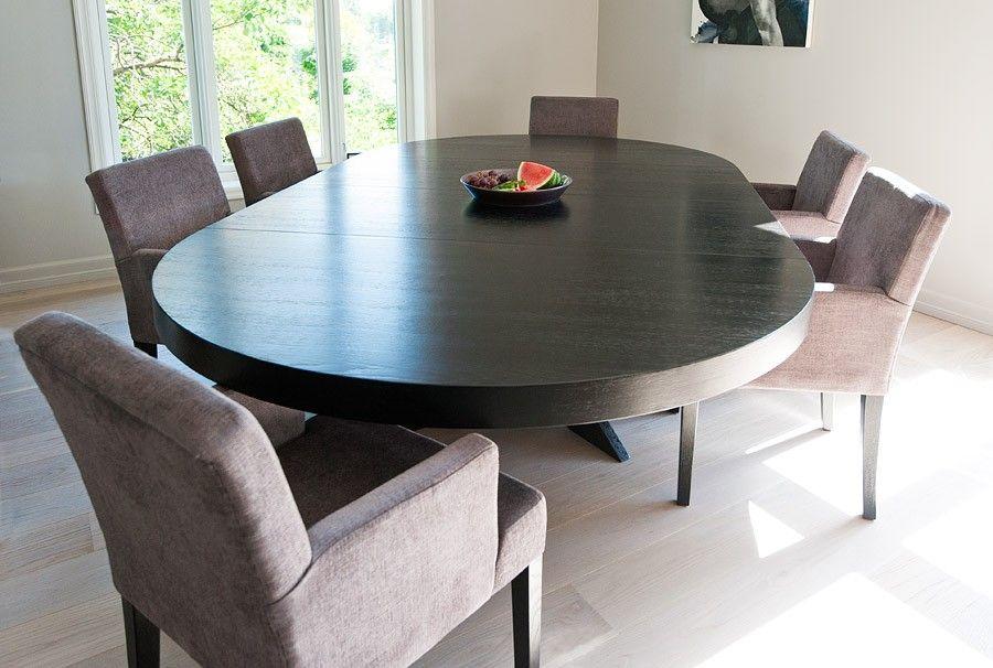 Glimrende Rundt Cross spisebord - som kan bli langt!   FINN.no DU-11