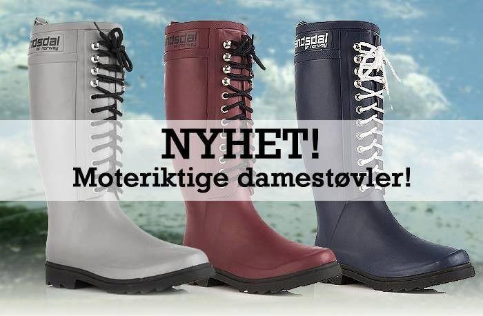 Brandsdal of Norway støvler, dr lykke joggedress og sko