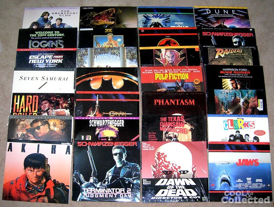 Laserdisc Laserdisk - Fjerdingby  - Ønsker å kjøpe laserdiscer. - Fjerdingby