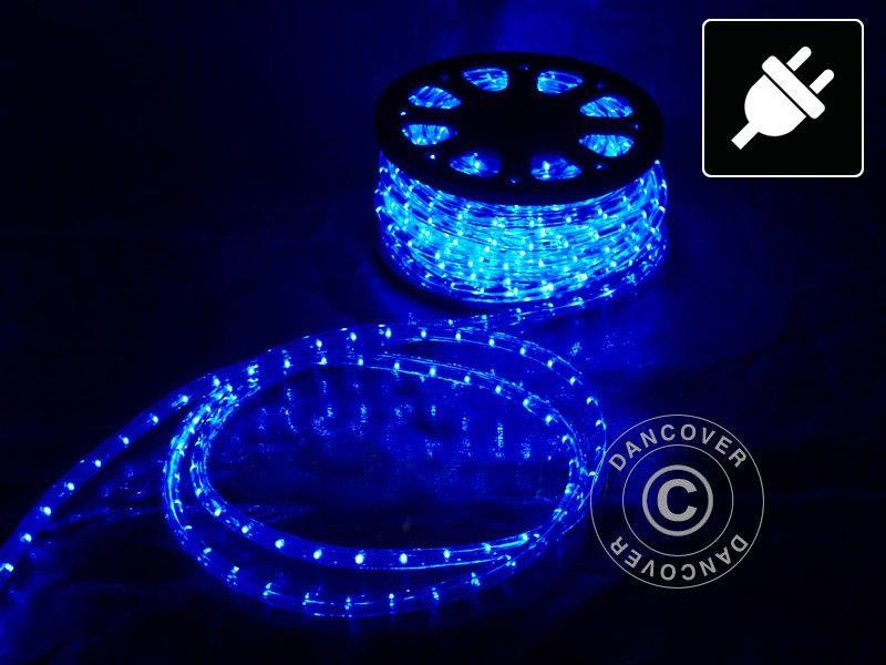 Topnotch Lysslange, 25m LED, Blå, Lyslenke, Lyskjede, Julelys, Party Lys TF-39