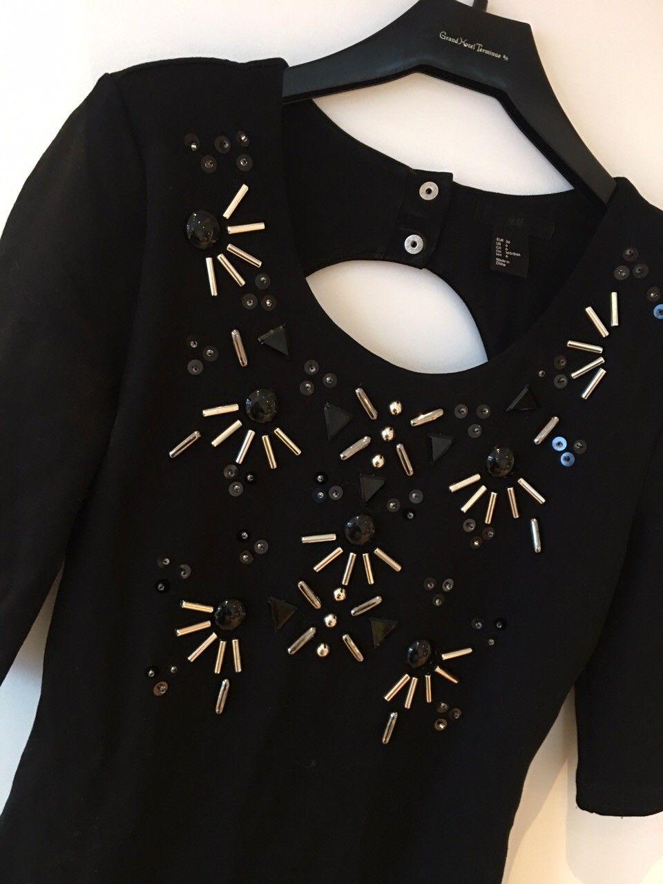 Selger svart kjole fra HM   FINN.no