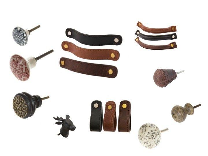 Enormt Nye håndtak og knotter til skuffer og skap - Skinnhåndtak JZ-75