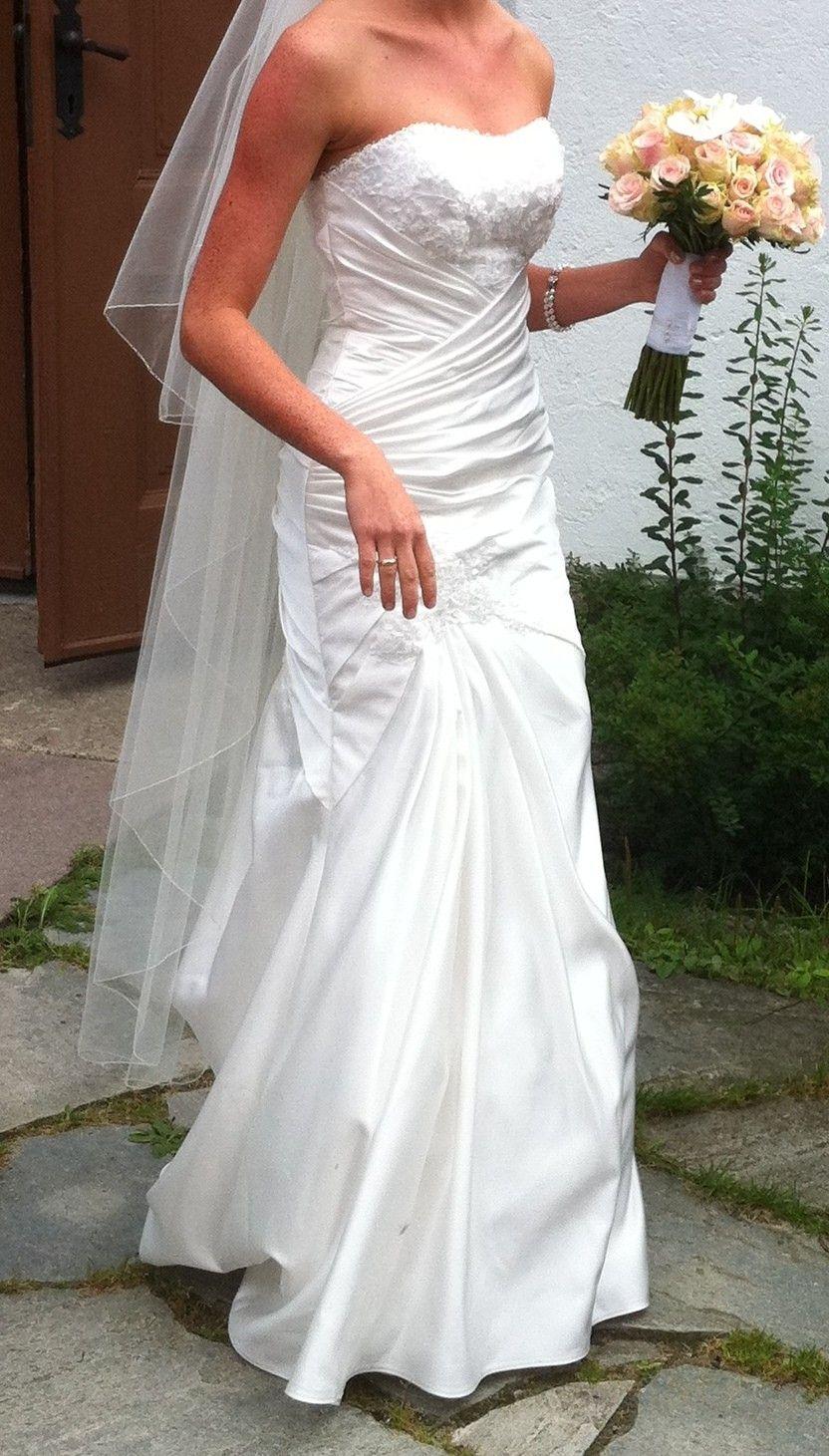 eb303ab1 Pent brukt brudekjole fra Agape selges | FINN.no