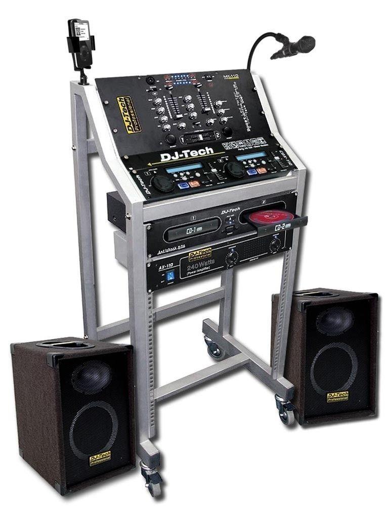 Dj-Tech Professional Lyd anlegg /Mobil DJ/PA utstyr - Oslo  - Dj-Tech Professional Lyd anlegg Selges billig!! Veldig bra for Mobil anlegg/lett å bare og flytte. pris kan diskuteres ved hurtig avgjørelse - Oslo