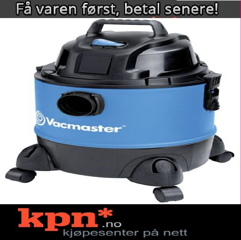Vacmaster støvsuger VQ1220PF våttørr *Superkampanje* | FINN.no
