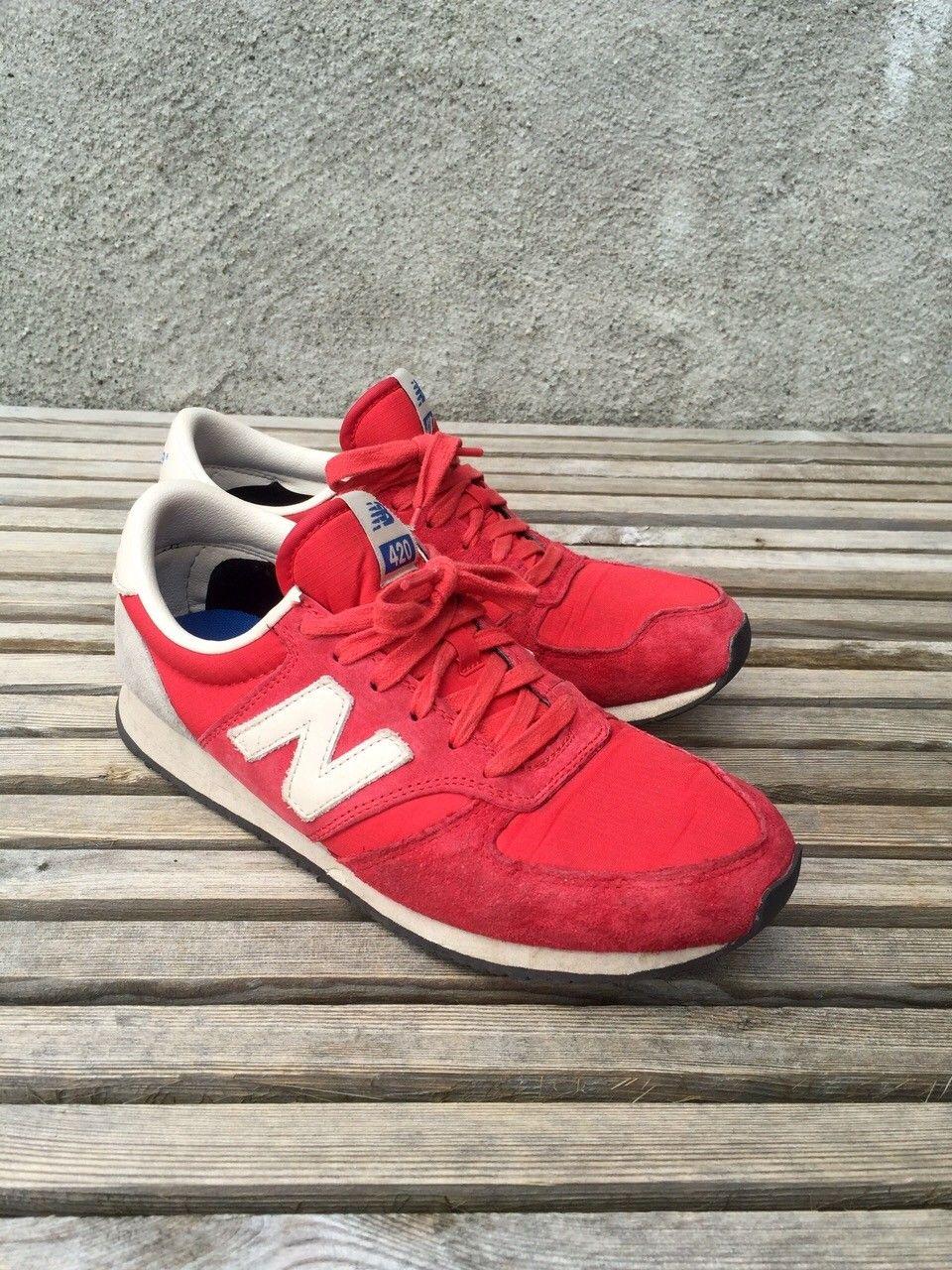 Balance sko - Farsund  - Røde 420 Balance sko i str 38,5. Nesten ubrukt. Eventuell frakt kommer i tillegg. - Farsund