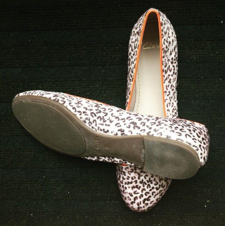 23a71ddf Clarks ballerina sko i leopard mønster, veldig behagelige og sitter godt på  foten. Str UK 6 = 39. Førpris: 999,- Min pris: 500,- (7/7)