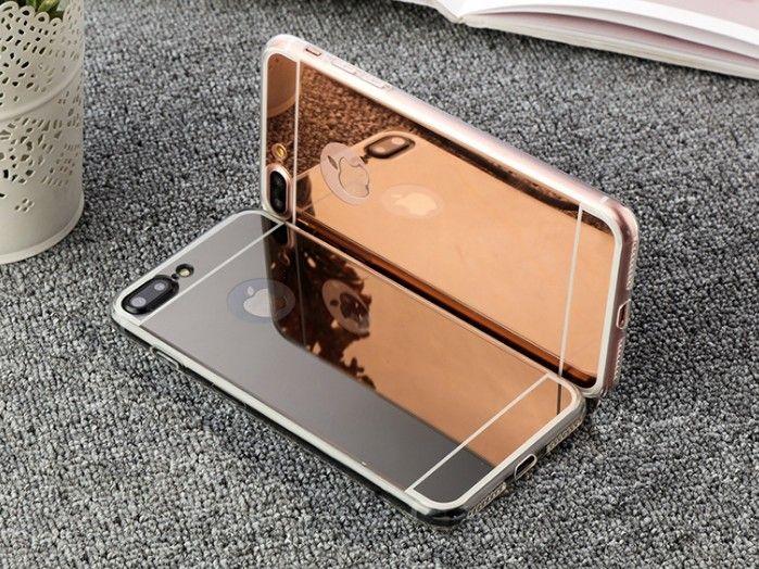 "Iphone 8/8 +, Iphone X, Iphone 7 /7+, 6 Plus deksel cover rosegull mobildeksel. - ålesund  - Iphone mobildeksel med rosegull speilbakside. Myk silikon ( TPU ) på sidene.  Velg : * Iphone 7 eller 8 ( 4,7 inch = ""liten ) * Iphone 7 Plus eller 8 Plus ( 5,5 inch = stor ) * Iphone X  - ålesund"