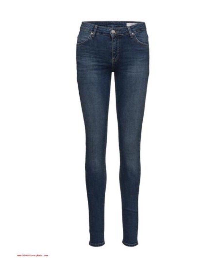 Jeans fra 2nd One  str S/36 - Ski  - Jeans fra 2nd One i str. 25 tommer. Passer til small/ 36. Brukt 1 gang. Ny pris var 599 kr. Kan også gå til en XS/34 om man ønsker en videre jeans. Fin passform. - Ski
