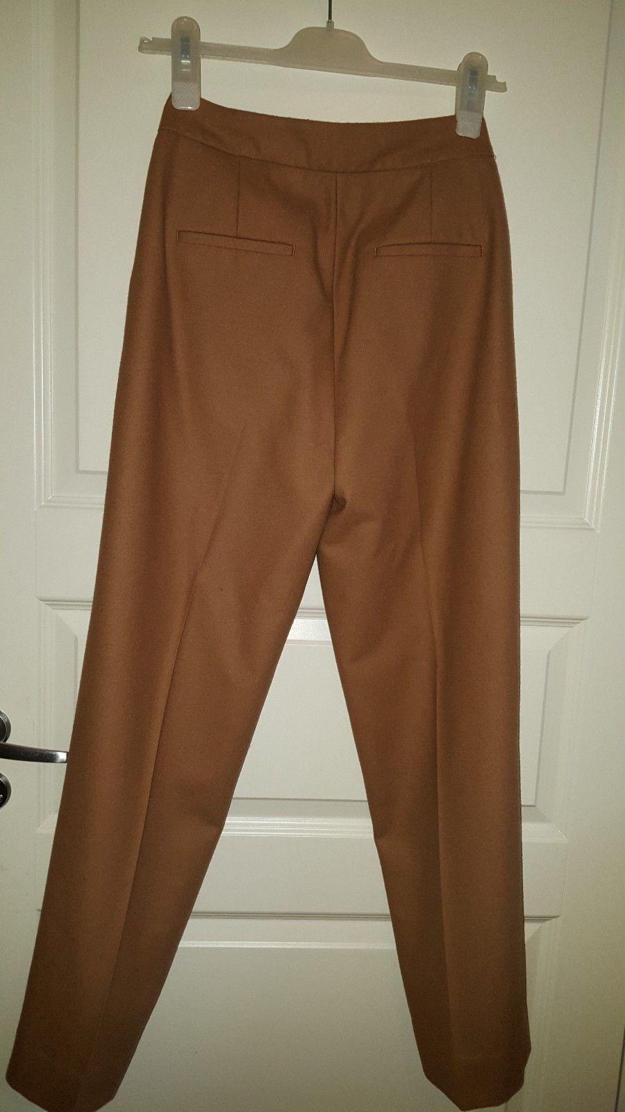 6e69d594 50% ULL Sennepsgul / Kamel farge bukse. Str. 34. | FINN.no