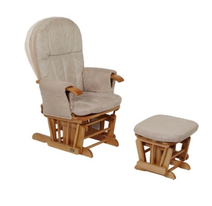 Baby Feed Glider Chair - Natural - Randaberg  -  Halv pris av ny! Nesten ubrukt!   Glider Chair - Natural  Whether feeding, putting your little one to sleep over a quiet cuddle or just relaxing after a long hard day, the GC35 Glider Chair is a stylish and practical nursing chair - Randaberg