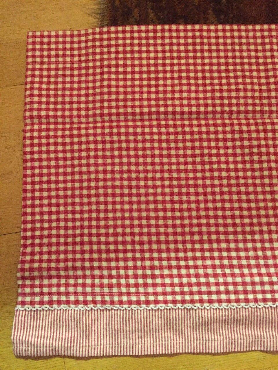 Ultra Koselige rødrutete gardiner i bomull | FINN.no RJ-61