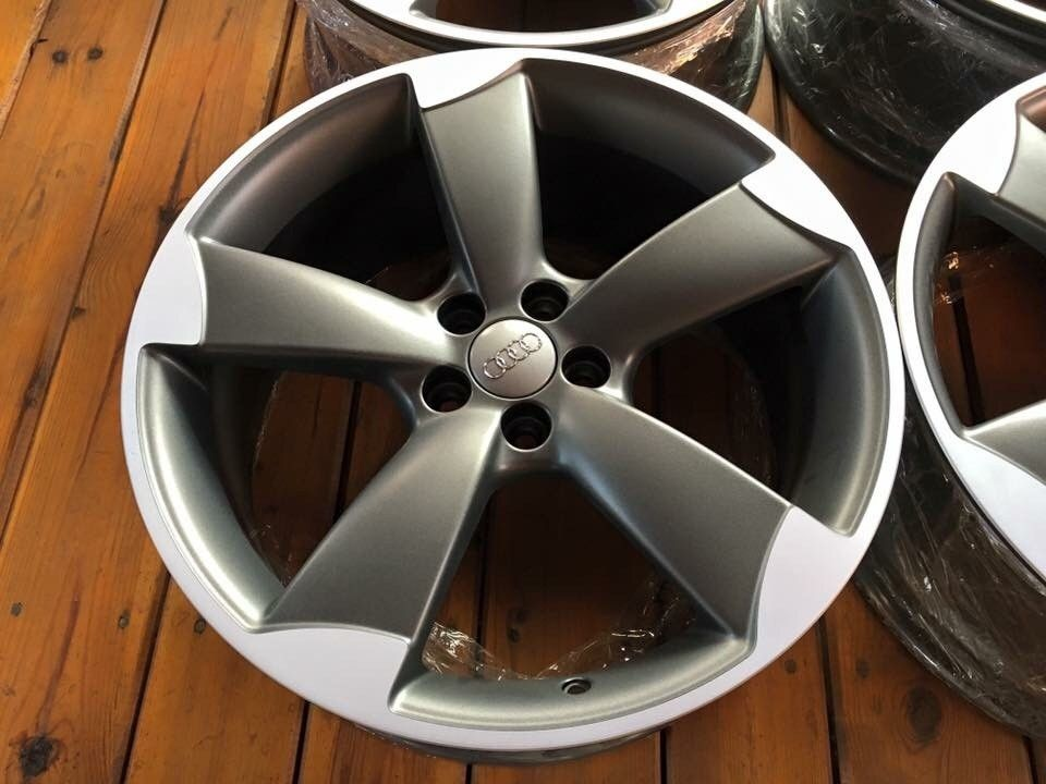 """AUDI ROTOR 18 5x100 Audi S1 S3 VW GTI Seat - Gardermoen  - Audi Rotor 5x100 7,5J 18"""" ET39,5 Rims from Audi S1. Rims after full renovation.  Contact +48602661228 (also WhatsApp) or PM - Gardermoen"""