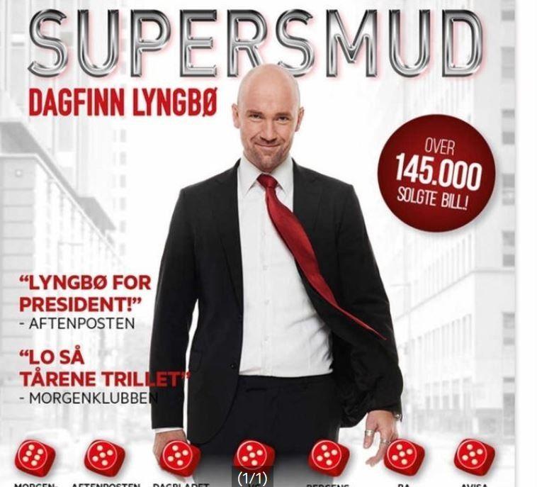 2 billetter til Dagfinn Lyngbø - 9 februar i Bergen - Nesttun  - 2 stk billetter selges til Dagfinn Lyngbø show på Ole Bull Scene Fredag 6 februar klokken 19:00 - Rad 3 1025,- for to billetter - jeg sender billetter pr mail. - Nesttun