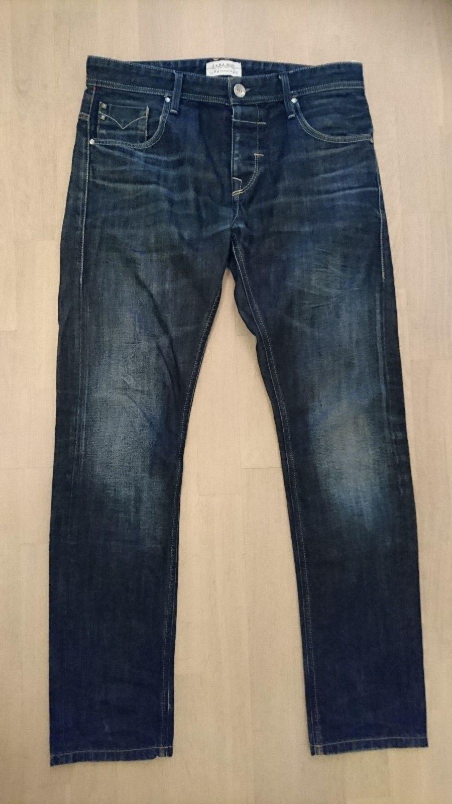 Jeans fra Zara - Paradis  - Jeans fra Zara, pent brukt, i størrelse 32 selges. - Paradis