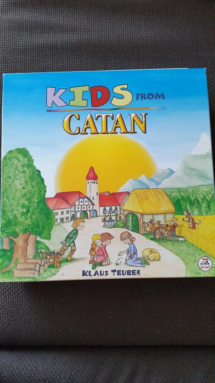 Kids from Catan - Brettspill - Bekkestua  - Kids from Catan brettspill for barn fra 4 år selges. Spillet er komplett og som nytt. - Bekkestua