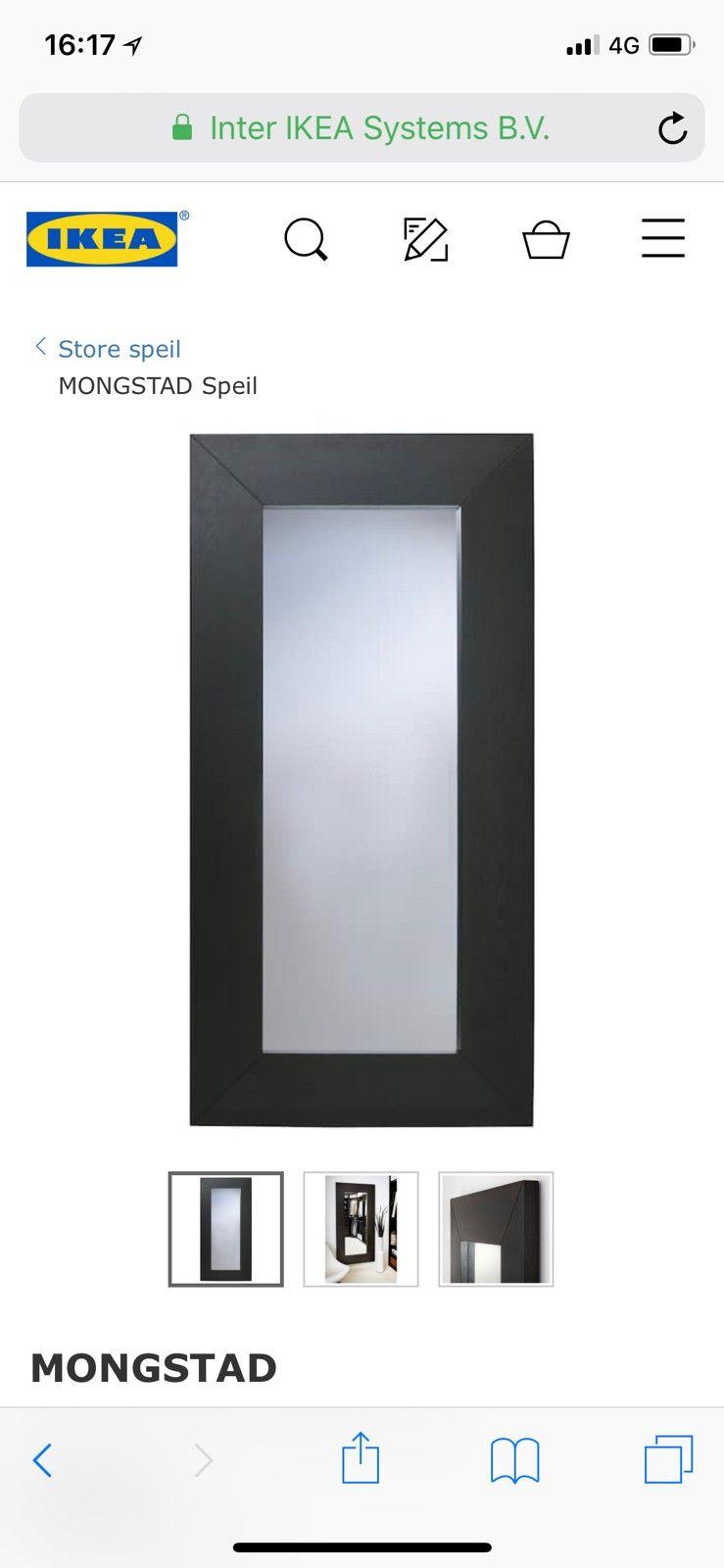 Speil selges - Oslo  - Selger speil fra Ikea. Bilde kommer!  94x190 cm - Oslo