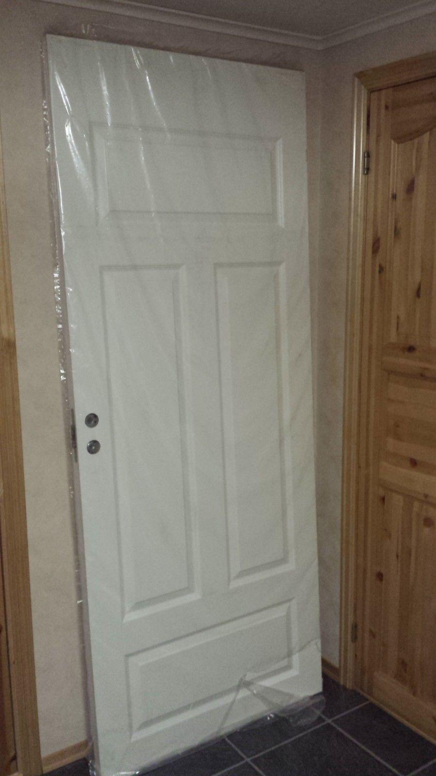 Dørblad 90x210 - Elverum  - Nytt dørblad 825 x 2040mm fra Swedoor (90x210) - Elverum