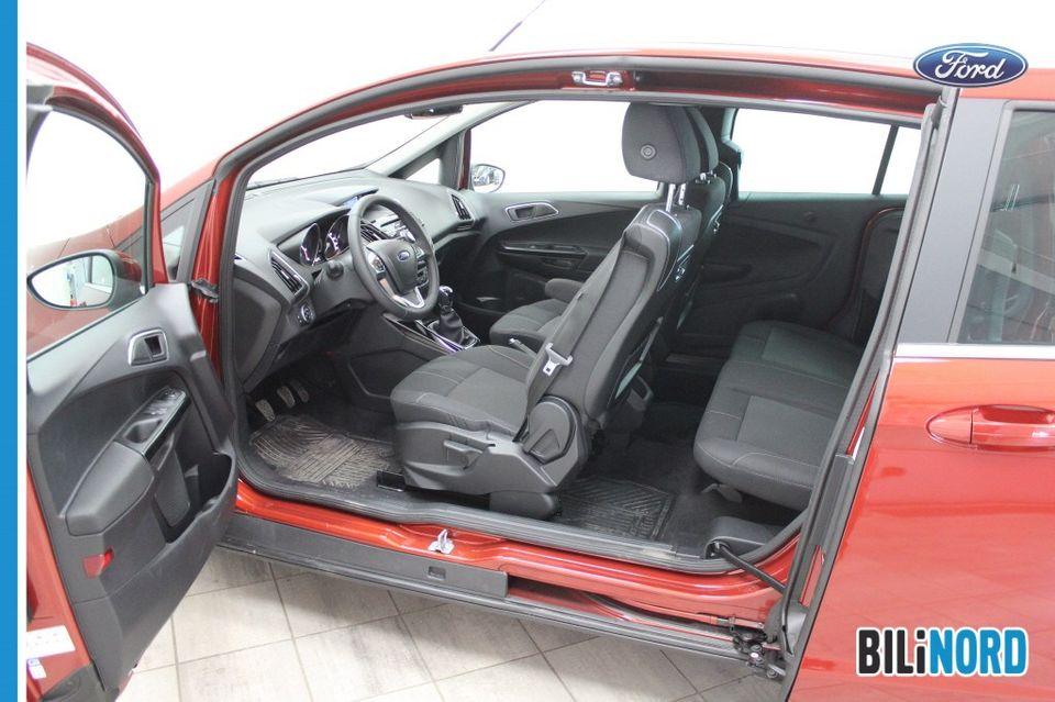 Bilbilde: Ford B-MAX