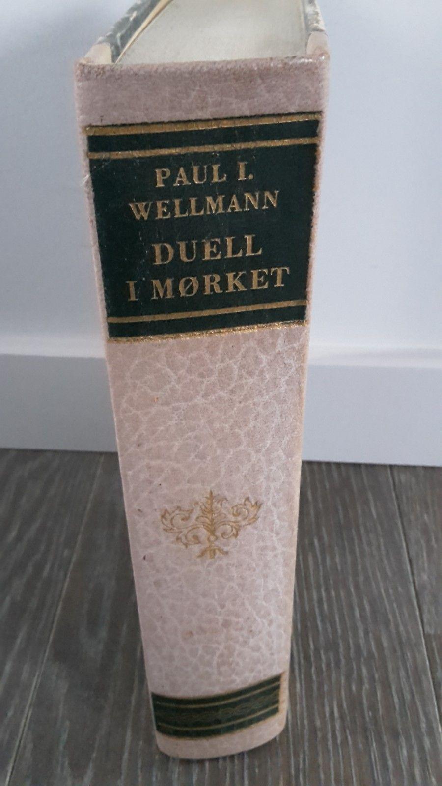 Paul I. Wellmann - Duell i mørket - Stranda  - Boken selges 40kr. Kan hentes eller sendes. Kjøper betaler porto - Stranda