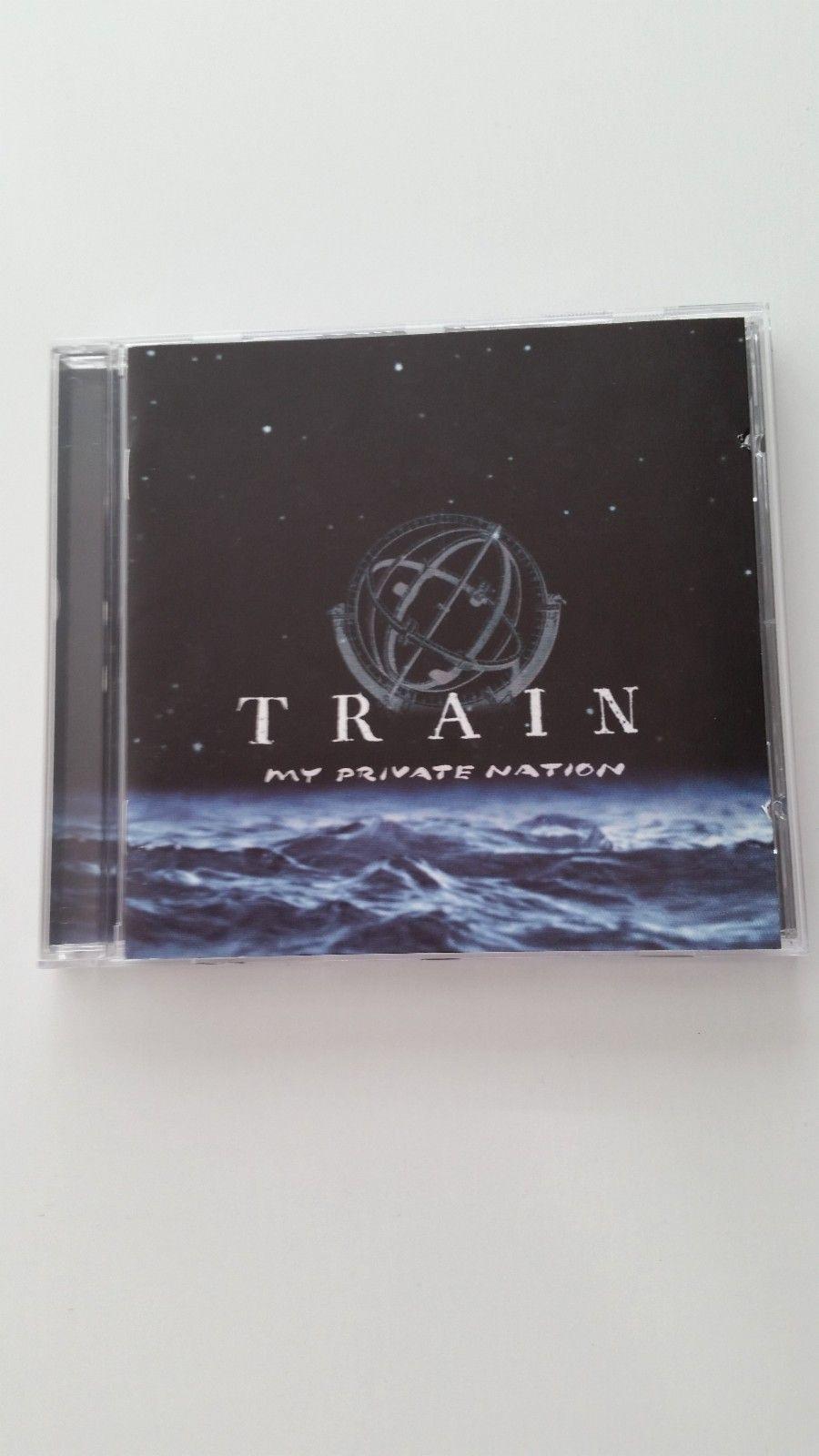Train - My Private Nation  (CD) - Rypefjord  - Train - My Private Nation (CD) Media condition: Near Mint. Gratis frakt! - Rypefjord