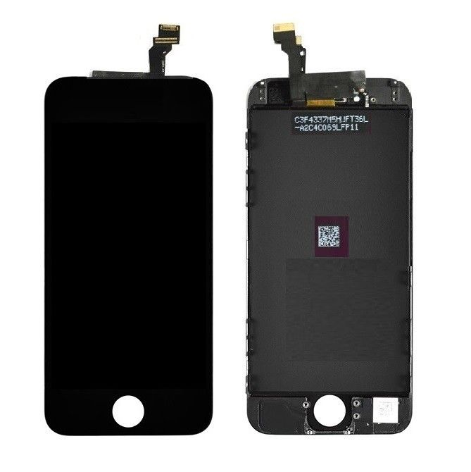 Iphone sort skjerm