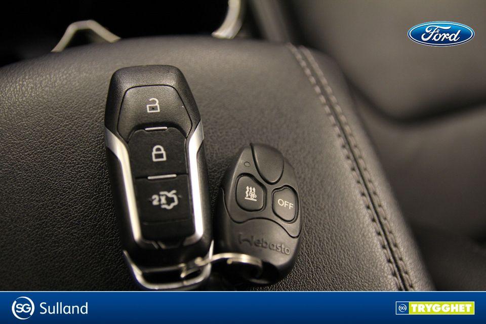 Nøkkel med fjernkontroll til Webasto (parkeringsvarmer). Denne kan også settes på ønsket klokkeslett