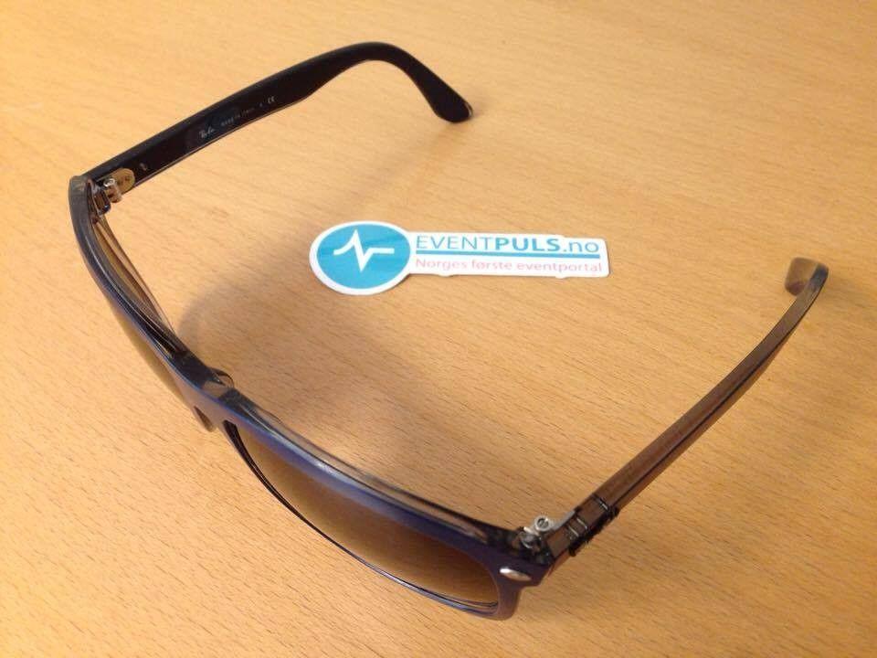 Rayban - RB 4 147 6132/8G - Eiksmarka  - Jeg ønsker å bytte ut disse med noen andre solbriller.   De er selvfølgelig ekte, og du får med skinnetui på kjøpet. - Eiksmarka