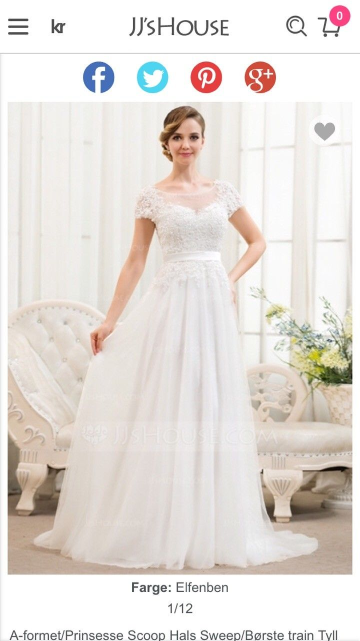 f1debeb1f Selger nydelig ny brudekjole fra Jjhouse | FINN.no