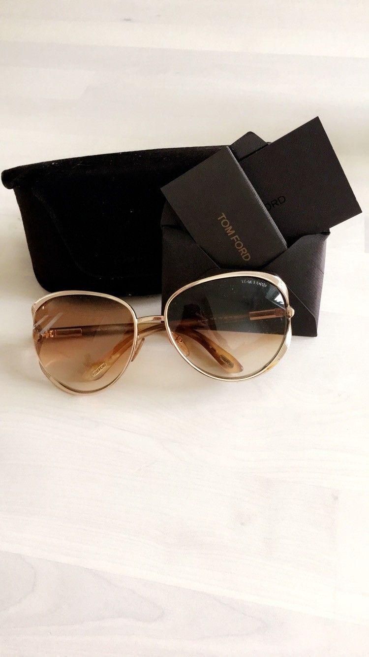 TOM FORD solbriller - Oslo  - Nesten ikke brukt. Ord pris 2600.- - Oslo