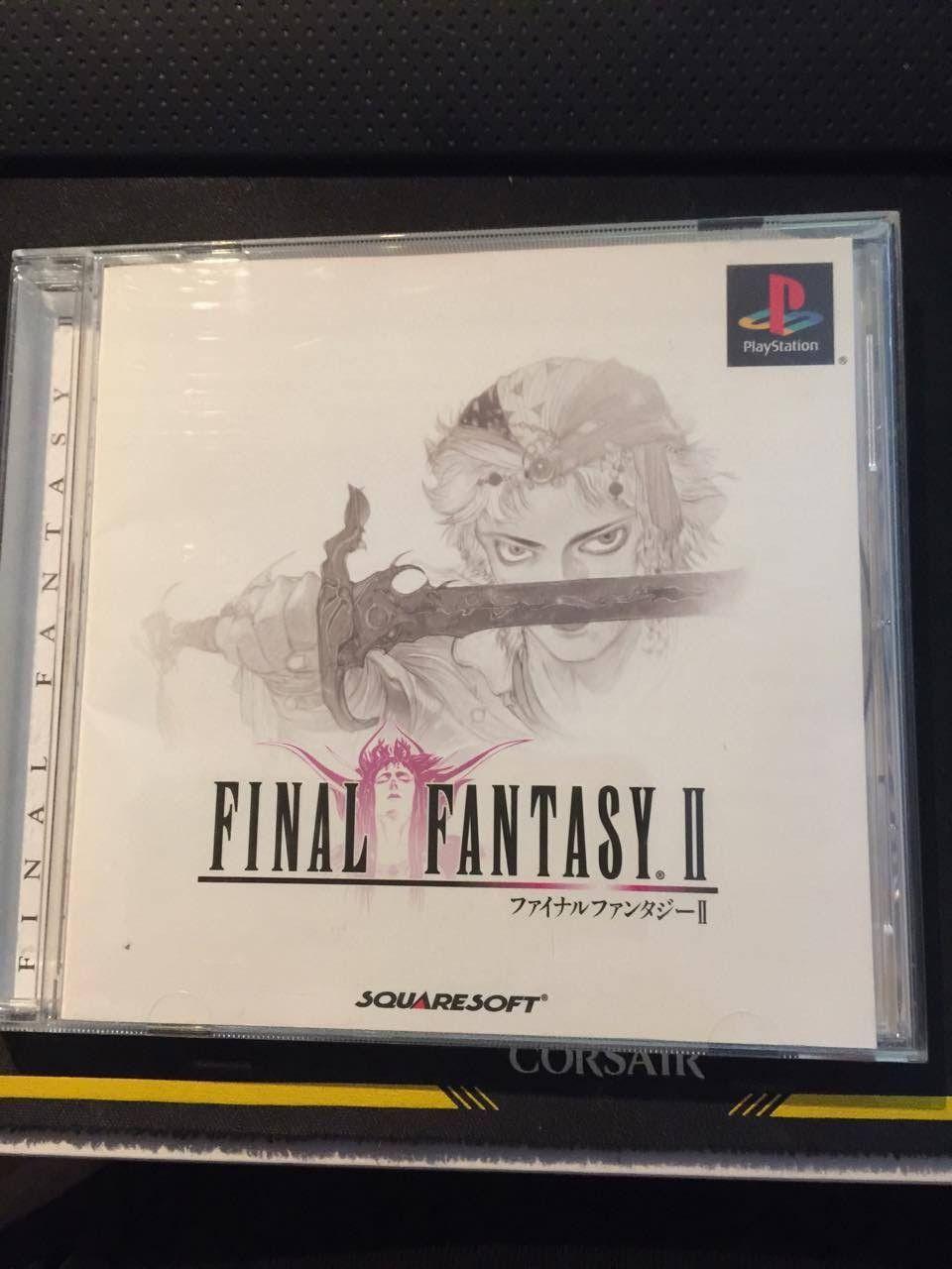 Final Fantasy 2 på Playstation 1 (NTSC) - Ulset  - Final Fantasy 2 på PS1 i veldig god tilstand. Produkter er fra Japan og vil derfor ikke kjøre på en vanlig PS1 eller PS2 fra Europa.  Spillet er brukt som et samlerobjekt og aldri testet. - Ulset