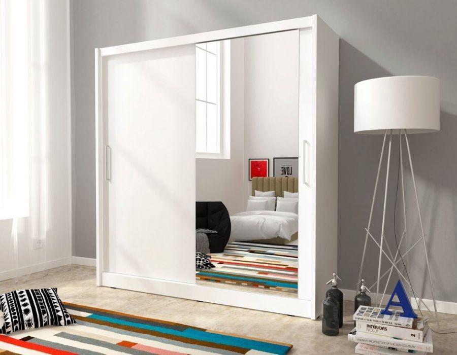 Ypperlig FRI FRAKT ! MAI 1 Garderobeskap med speil | FINN.no LJ-26